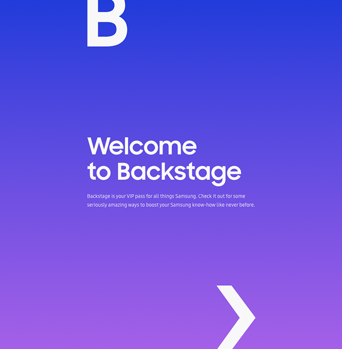 Samsung Backstage, an LMS for retail staff